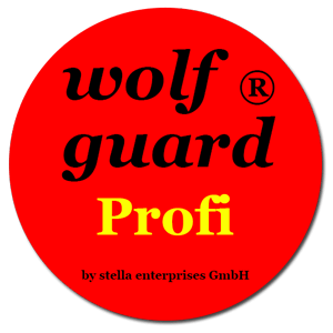 wolf guard® Sticker