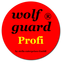 wolf guard ® Profi Siegel